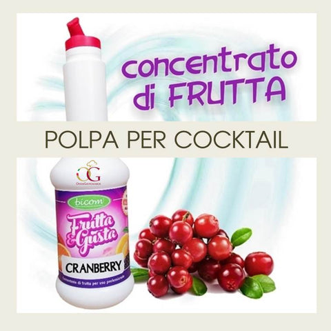 Concentrati per Cocktail Cranberry - officinegastronomiche