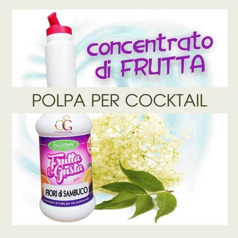 Concentrati per Cocktail Fiori di Sambuco - officinegastronomiche