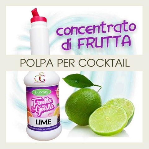 Concentrati per Cocktail Lime - officinegastronomiche