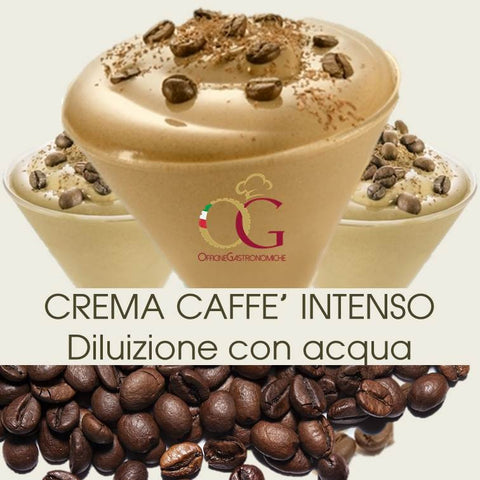 Crema Caffè Bar con acqua Gusto Intenso - officinegastronomiche