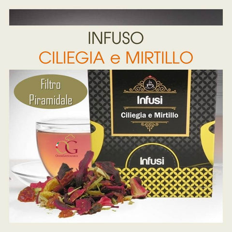 Infuso Ciliegia Mirtillo - officinegastronomiche