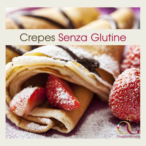 Preparato per Crepes SENZA GLUTINE - officinegastronomiche