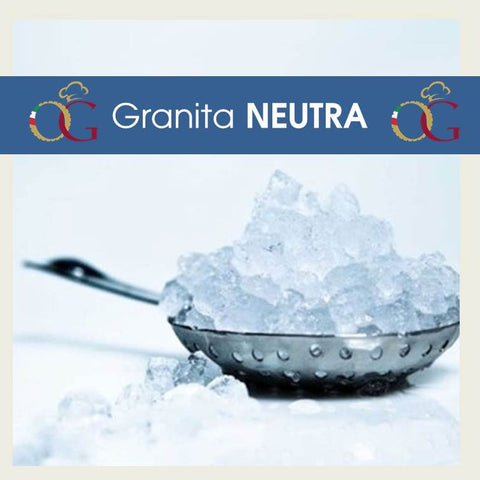 Preparato per Granita Neutra - officinegastronomiche