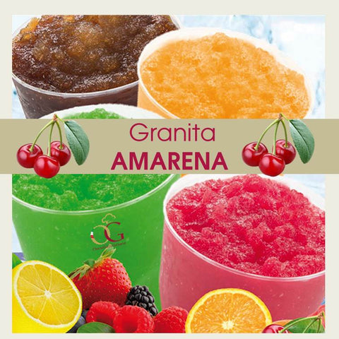 Preparato per Granita all'Amarena in buste da 650 gr
