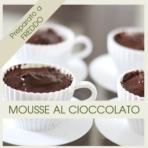 Preparato per Mousse al Cioccolato - officinegastronomiche