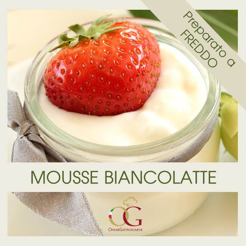 Preparato per Mousse al latte - officinegastronomiche