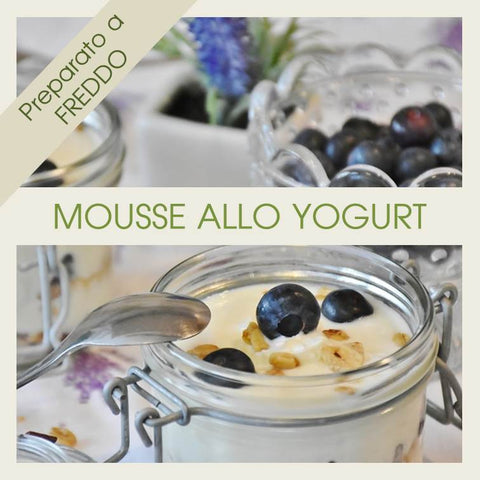 Preparato per Mousse allo Yogurt - officinegastronomiche