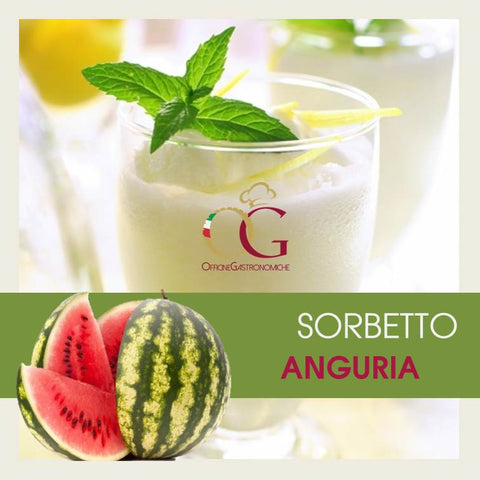 Sorbetto all'Anguria in buste da 1 kg
