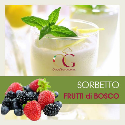 Sorbetto Frutti di Bosco - officinegastronomiche