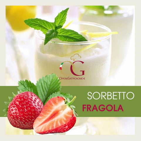 Sorbetto Fragola - officinegastronomiche