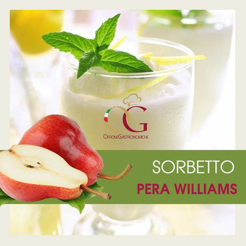 Sorbetto alla Pera Williams in buste da 1 kg