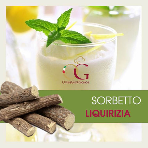 Sorbetto Liquirizia - officinegastronomiche