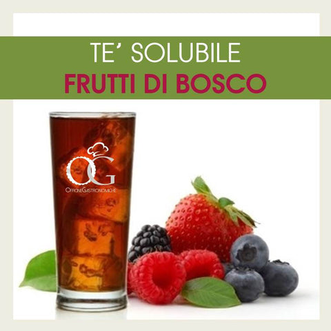 TE' Solubile ai Frutti di Bosco in Box in buste da 500 gr.