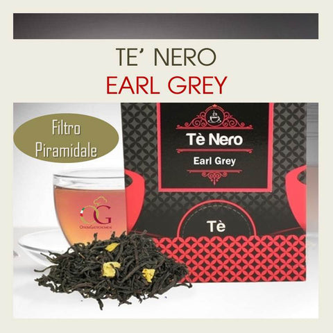 Tè Nero Earl Grey - officinegastronomiche