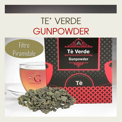 Tè Verde Gunpowder - officinegastronomiche