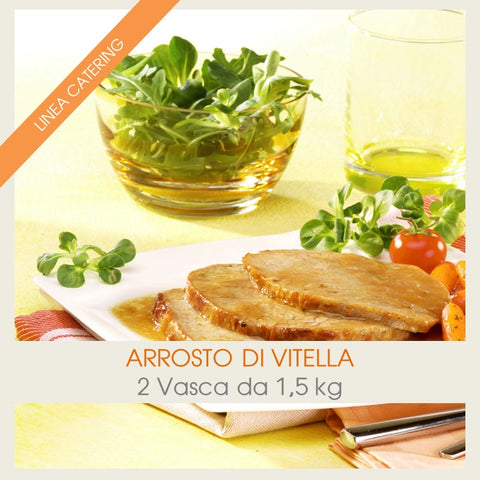 Arrosto di Vitello | Teglia da 1,5 kg - officinegastronomiche