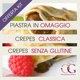 KIT MINI | Crepes + Crepiera in OMAGGIO - officinegastronomiche