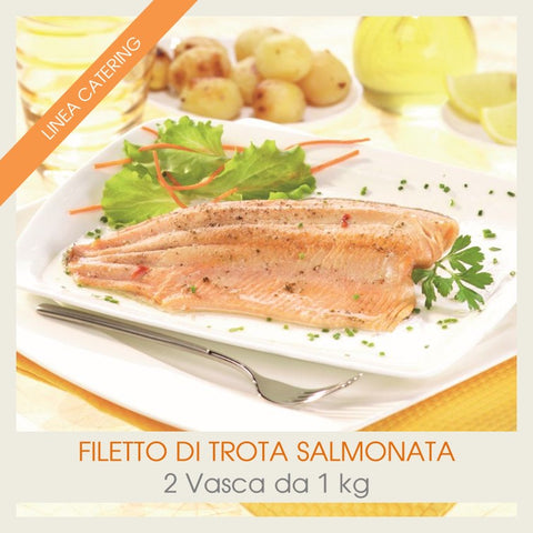 Filetto di Trota Salmonata | Teglia  da 1 kg - officinegastronomiche