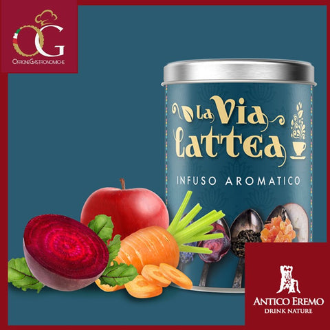 Infuso La Via Lattea in Barattolo da 80 g| Box da 6 pz. - officinegastronomiche