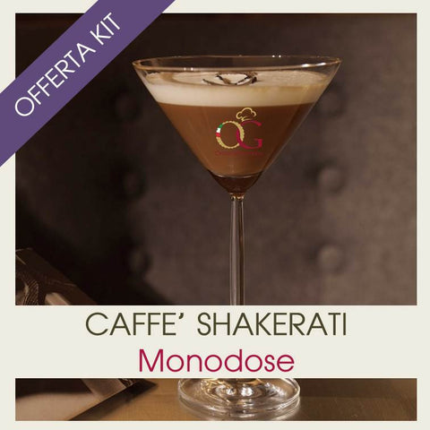 KIT | Caffè Shakerati Monodose Assortiti - officinegastronomiche