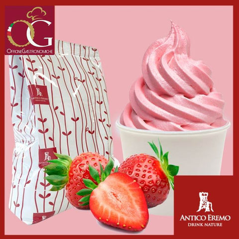 Preparato per Gelato Professionale | Soft alla Fragola - officinegastronomiche