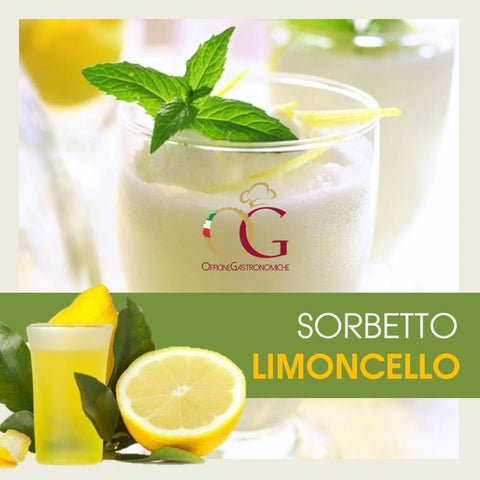 Sorbetto Limoncello - officinegastronomiche