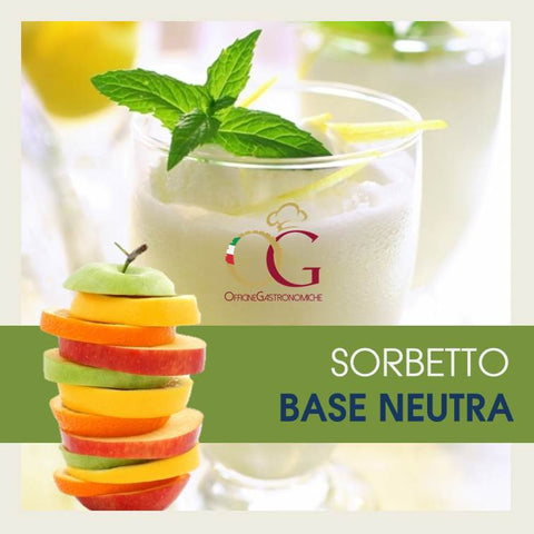 Sorbetto Neutro - officinegastronomiche
