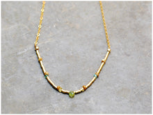 GREEN DROP Necklace