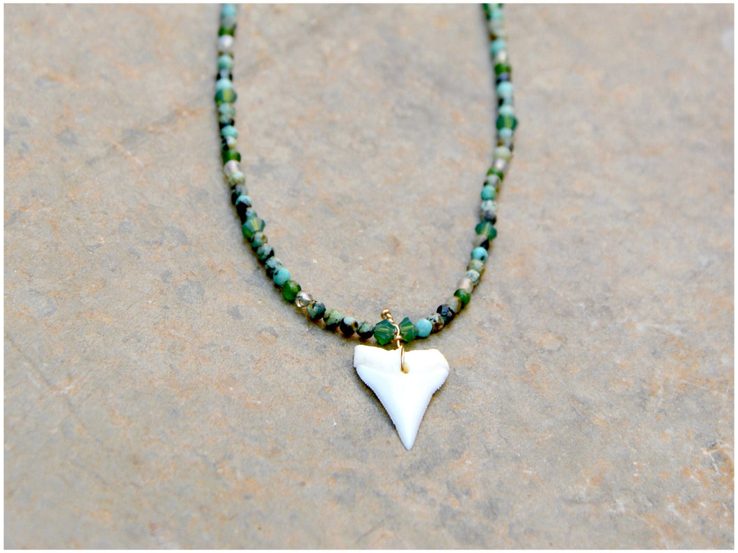 JADE SHARK Necklace