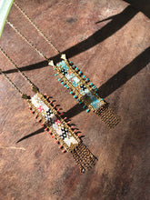 KUZCO Turquoise Banner Necklace
