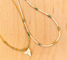 TURQUOISE SHARK Necklace