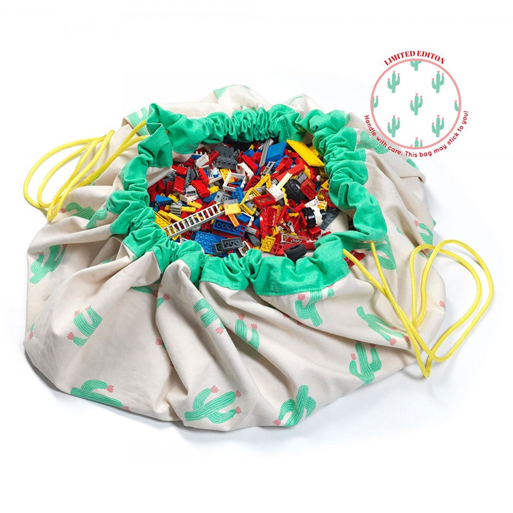 PLAY & STORAGE BAGS CACTUS