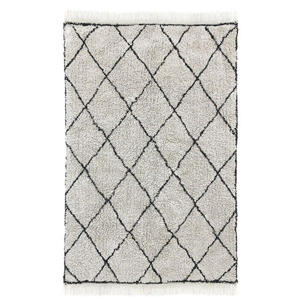 COTTON DIAMOND RUG (120 x 180)
