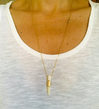 SHELL HORN Necklace