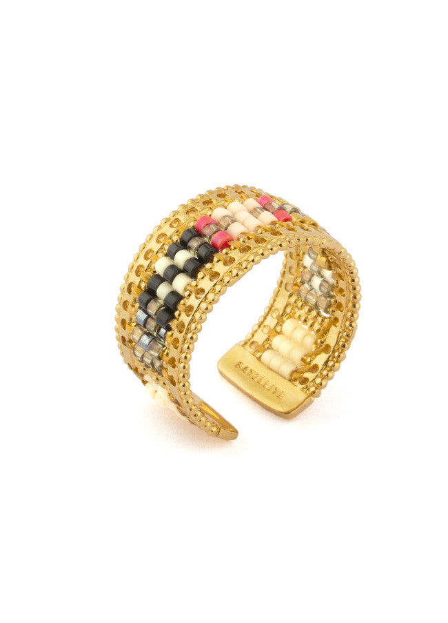 KUZCO Beaded Ring