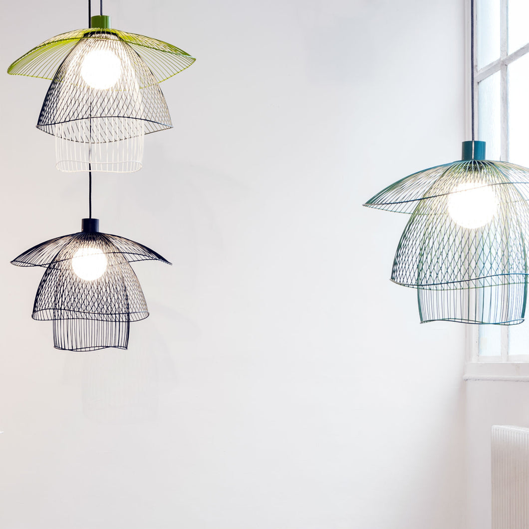 BUTTERFLY OR PAPILLON SMALL SUSPENSION LAMP