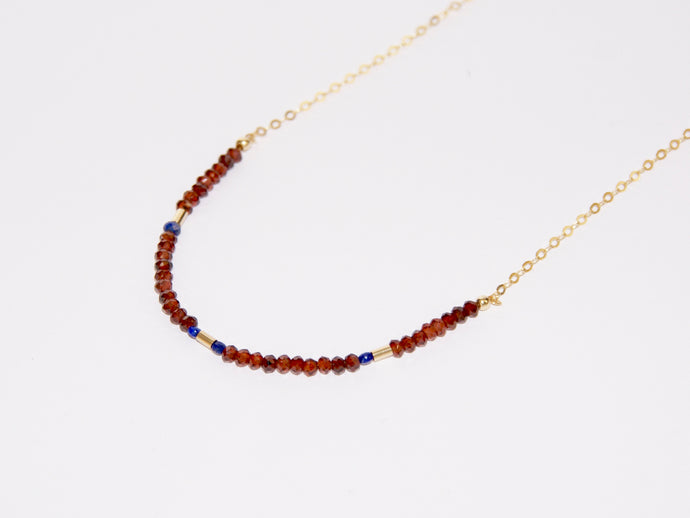 CRIMSON BLUE Necklace