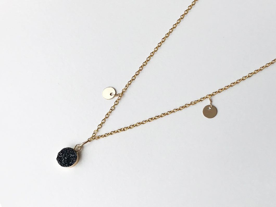 PARIS BLACK Necklace