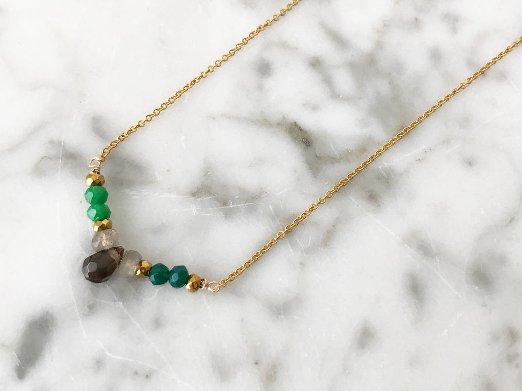 RAIN GREEN Necklace