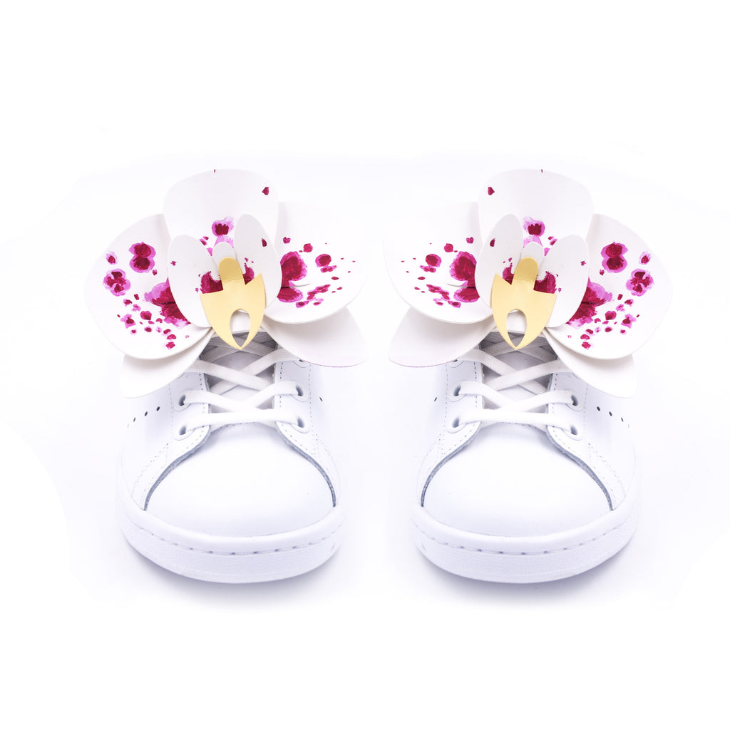 SHOES 3D PATCH - Orchids