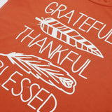 Women's Short Sleeve Tops T-Shirt  Thanksgiving - The Accessorie Hub
