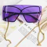 Italian Luxury Gradient Sunglasses Women
