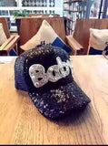 Fashion Women Sequins Baseball Cap - The Accessorie Hub