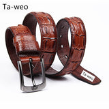 Men's Genuine Leather Belts - The Accessorie Hub