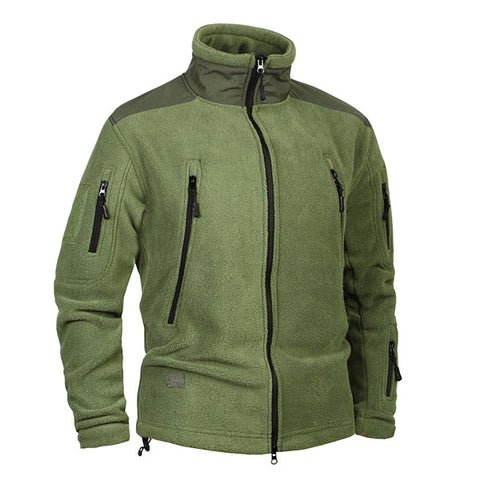 Men Thicken Warm Military Army Fleece Jacket - The Accessorie Hub