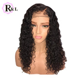 Curly Wig Brazilian Lace Front Human Hair Wigs - The Accessorie Hub