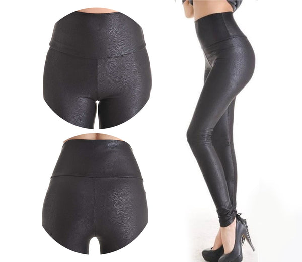 New Fashion Serpentine Leggings Stretch High Waist - The Accessorie Hub