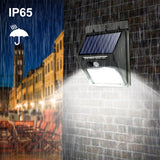 Waterproof Solar Lamp PIR Motion Sensor Wall Light Outdoor Solar Light - The Accessorie Hub