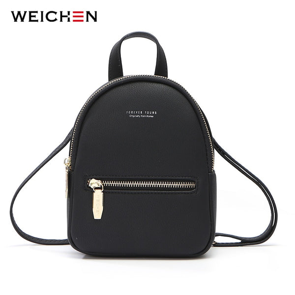 New Designer Fashion Women Backpack Mini Soft Touch - The Accessorie Hub