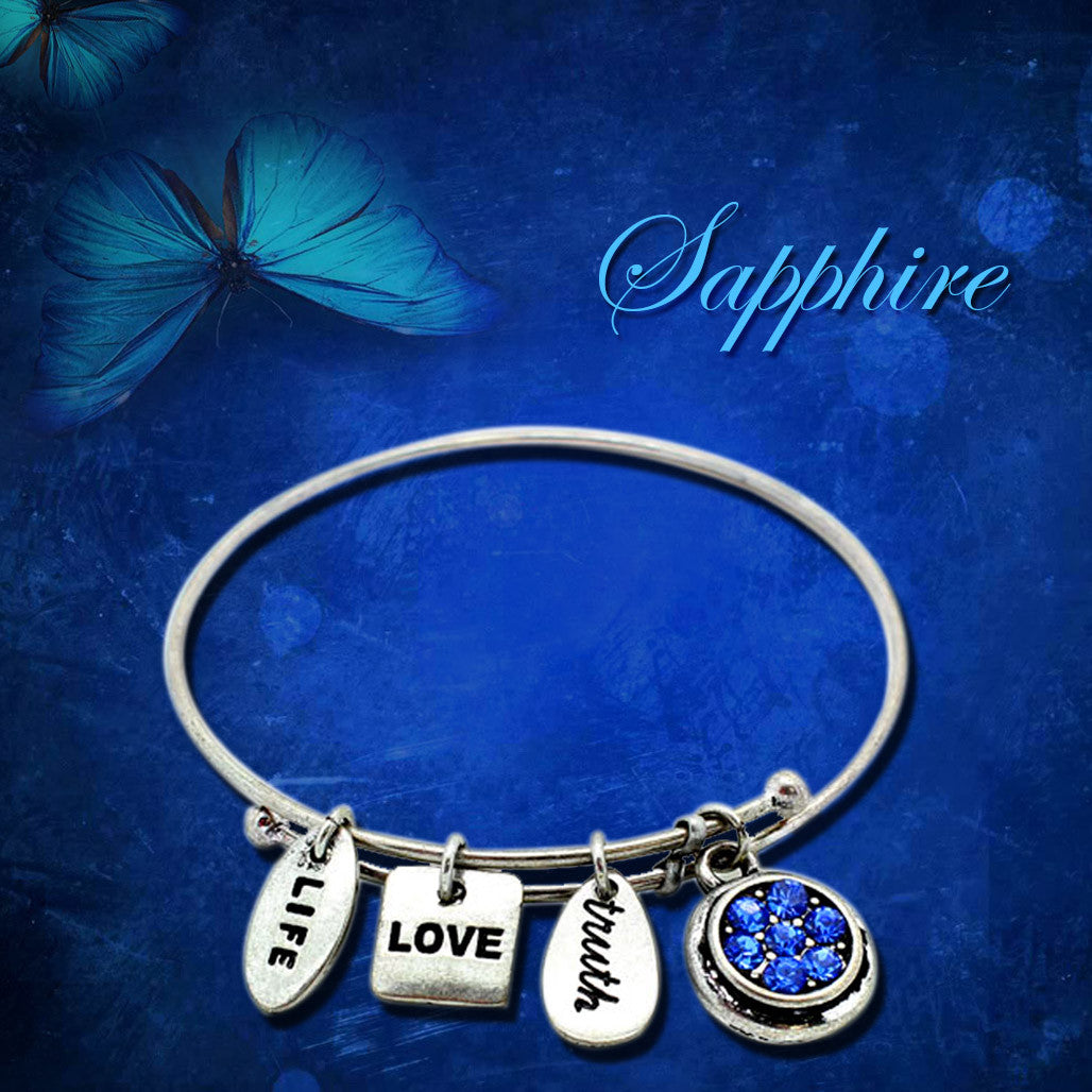 Pamper Yourself With A Symbology Birthstone Bracelet This September